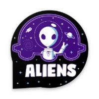 Sticker Aliens