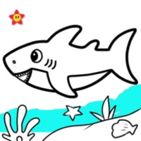 Baby Shark Coloring Game icon