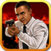 Obama shooting zombies android app icon