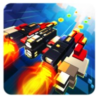 Captain Galaxy Pixel Shooter android app icon