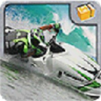 Motoboat racing:Crash android app icon