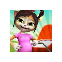 Pregnant Talking Cat Emma android app icon