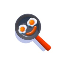Cooking 3D icon