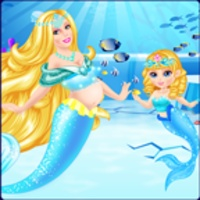 Newborn Ice Mermaid Princess android app icon