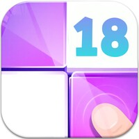 Piano Tiles 18 android app icon