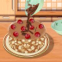 Juegos de cocinar postres chocolate cake android app icon
