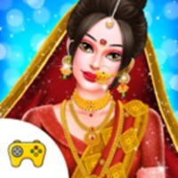Indian Gopi Fashion Doll Makeover Spa Salon android app icon
