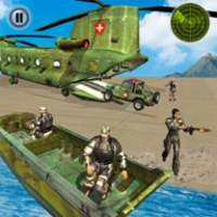 US Army Helicopter Rescue: Ambulance Driving Games android app icon