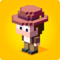 Blocky Raider android app icon