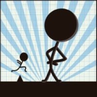 Stickman:Impossible Line Runner android app icon
