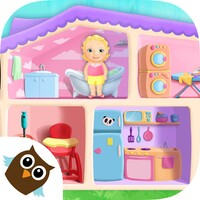 Sweet Baby Girl Doll House android app icon