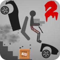 Stickman Dismount 2 Ragdoll android app icon