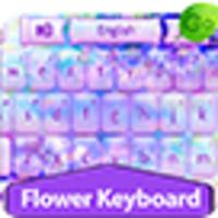 GO Keyboard Flower Keyboard Theme