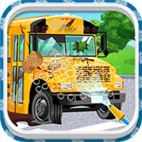 School Bus Car Wash android app icon