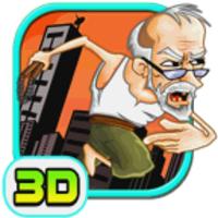 Grandpa Run 3D android app icon