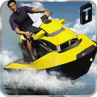 Jet Ski Driving Simulator android app icon