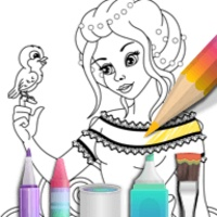 Princess Coloring android app icon