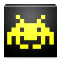 ASCII Space Invaders android app icon