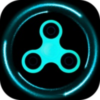 Fidget spinner simulator android app icon