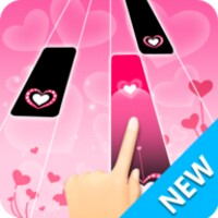 Pink Piano Tiles 2: Custom Songs android app icon