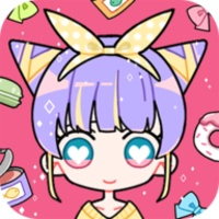 Cute Girl Avatar Maker android app icon