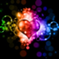 Sparkling Heart Wallpaper android app icon