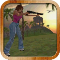 Hunter Girl - Tropical Island android app icon