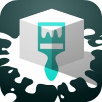 Overpainted android app icon