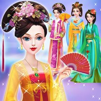 Chinese Doll Makeup Salon android app icon