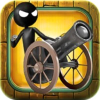 Stickman Cannon Ball Shooter android app icon