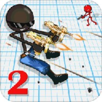 Sniper Shooter Stickman 2 android app icon