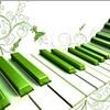 ダウンロード Wavy and Green Piano wallpaper Windows
