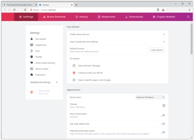 Brave Browser screenshot 2