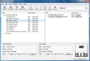 MusicBrainz Picard screenshot 2