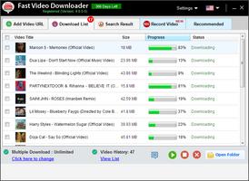 Fast Video Downloader screenshot 4