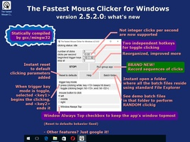 The Fastest Mouse Clicker for Windows screenshot 2