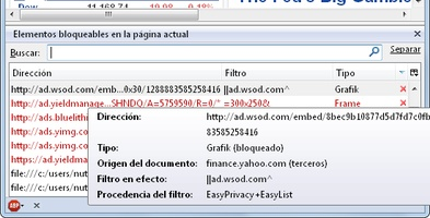AdBlock Plus for Firefox screenshot 3