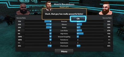 MMA Manager 2: Ultimate Fight screenshot 5