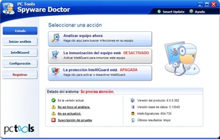 Spyware Doctor screenshot 2