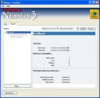 Nessus screenshot 2