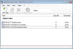Desktop Reminder screenshot 3