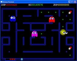 Deluxe Pacman screenshot 6
