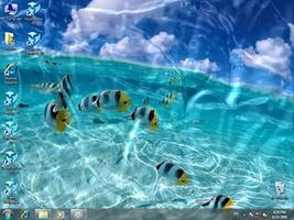 Watery Desktop 3D screenshot 2