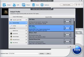 WinX HD Video Converter Deluxe screenshot 3