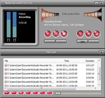 Audio Recorder for Free screenshot 2