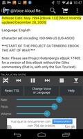 Voice Aloud Reader screenshot 5