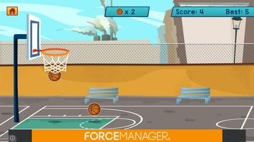 Basketball Bubble Toss Burst Free Mega Super Games screenshot 5