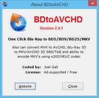 BDtoAVCHD screenshot 7