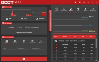 OCCT: OverClock Checking Tool screenshot 5