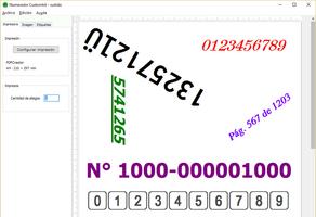 Numerador Custombit screenshot 3